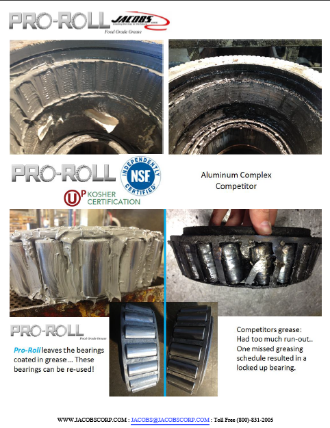 Download Pro-Roll vs. Competitor Bearing Comparison!