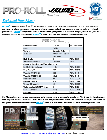 Download the Pro-Roll Data Sheet!